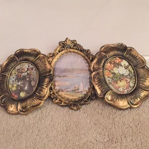 Decorative framed pictures